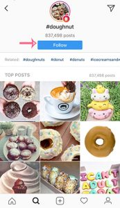doughnuts instagram hashtags follow