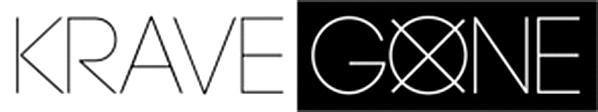 White KRAVEGONE logo - Work
